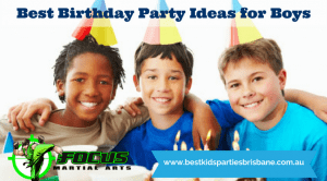 Party Ideas for Boys group