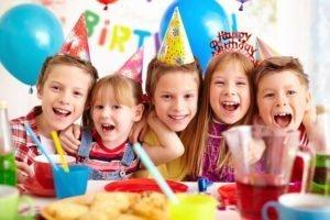 children's party friends
